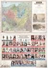 MAPA POLSKI A2 DWUSTRONNA REGIONY HISTORYCZNE